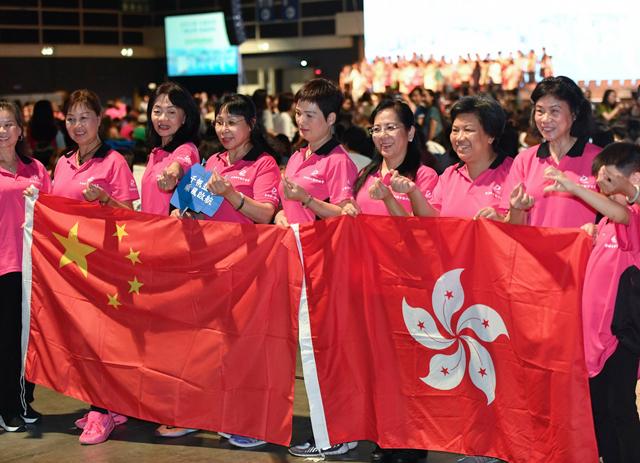 """""""向暴力说'不'""""""""守护家园"""":全港妇女守护家园大集会,发出她们的心声"""