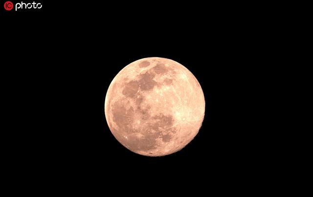 """2020年度最大""""超级月亮""""8日凌晨现身"""
